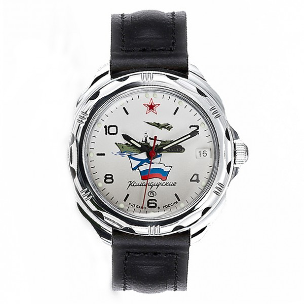 Vostok Komandirskie Watch 2414А/211535