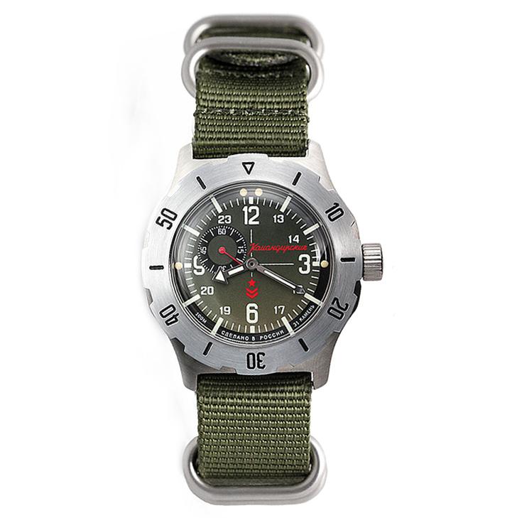 Vostok Komandirskie K-35 Automatic Watch 2415/350501