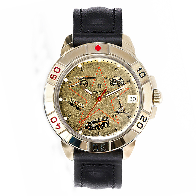 Vostok Komandirskie Watch 2414А/439213