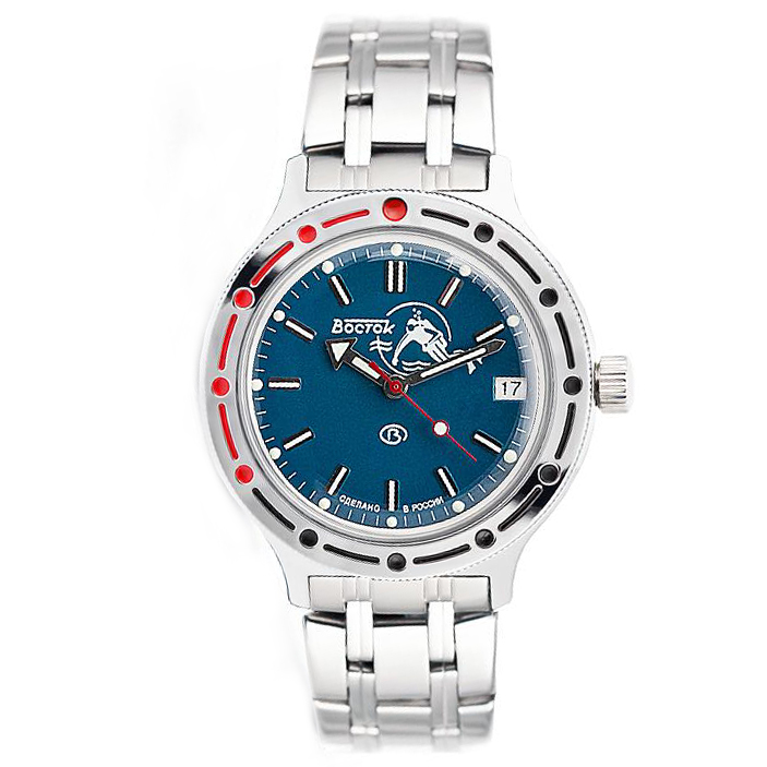 Vostok Amphibia Automatic Watch 2416B/420059