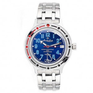 Vostok Amphibia Automatic Watch 2416B/420382