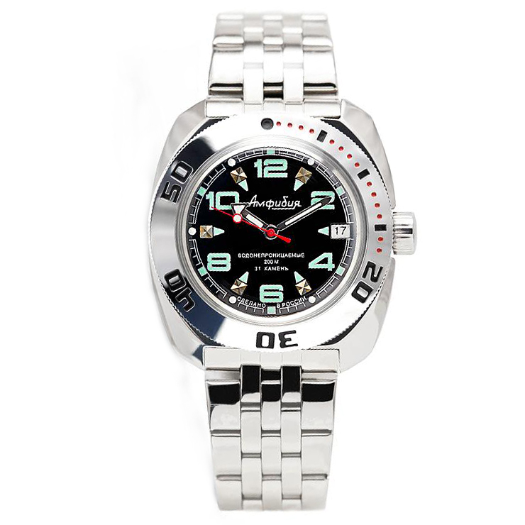 Vostok Amphibia Automatic Watch 2416B/710334