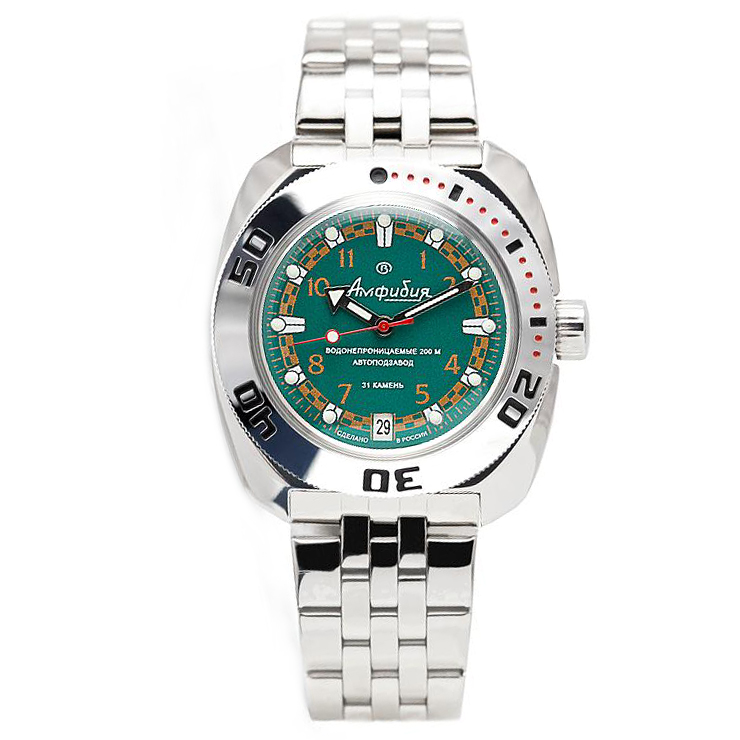 Vostok Amphibia Automatic Watch 2416B/710439