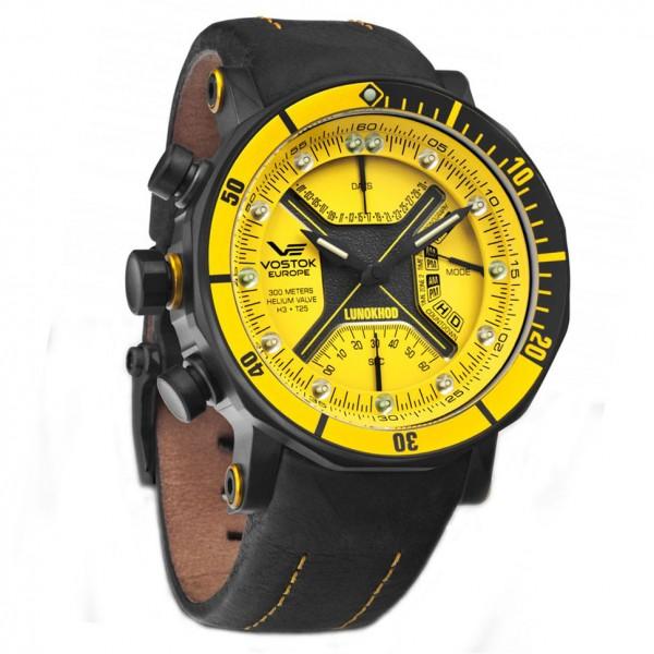 Vostok-Europe Lunokhod Quartz Watch TM3603B/6204205