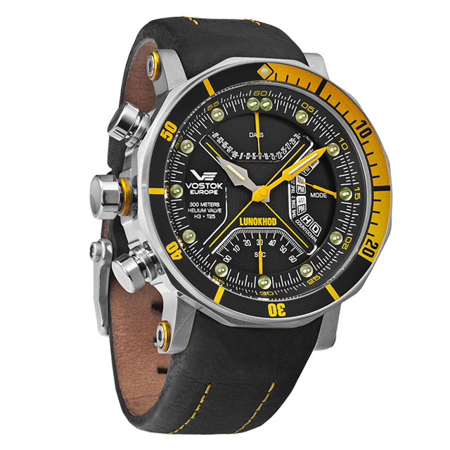 Vostok-Europe Lunokhod Quartz Watch TM3603B/6205206