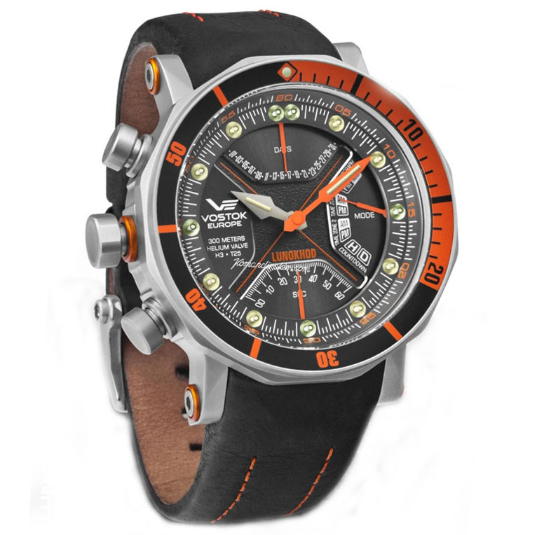 Vostok-Europe Lunokhod Quartz Watch TM3603B/6205207