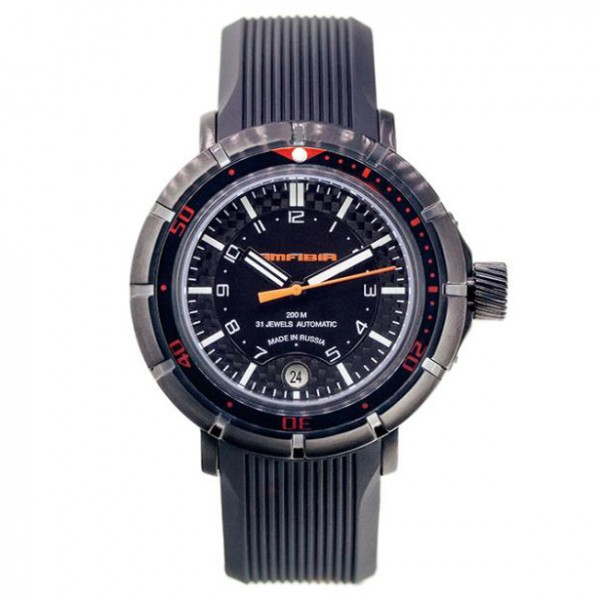 Vostok Amphibia Turbine Automatic Watch 2416B/236602A