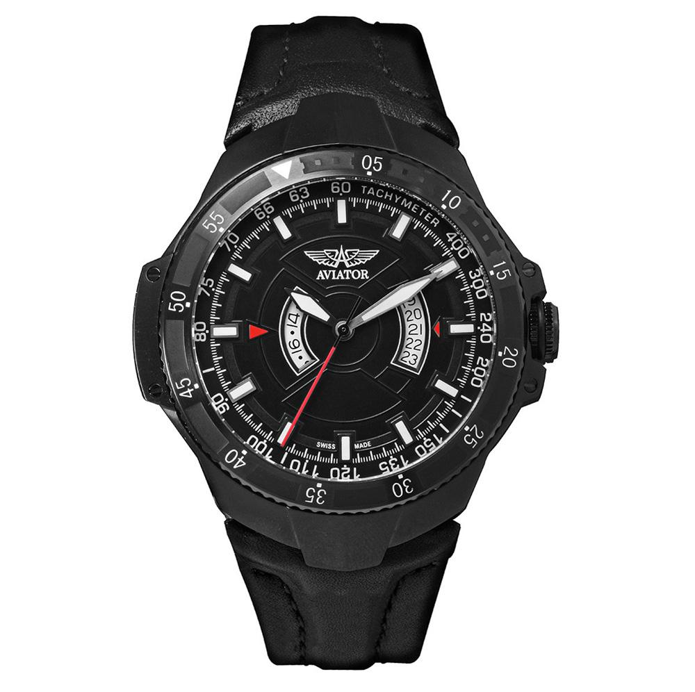 Aviator Mig-29 GMT Chrono Quartz Watch M.1.01.5.001.4