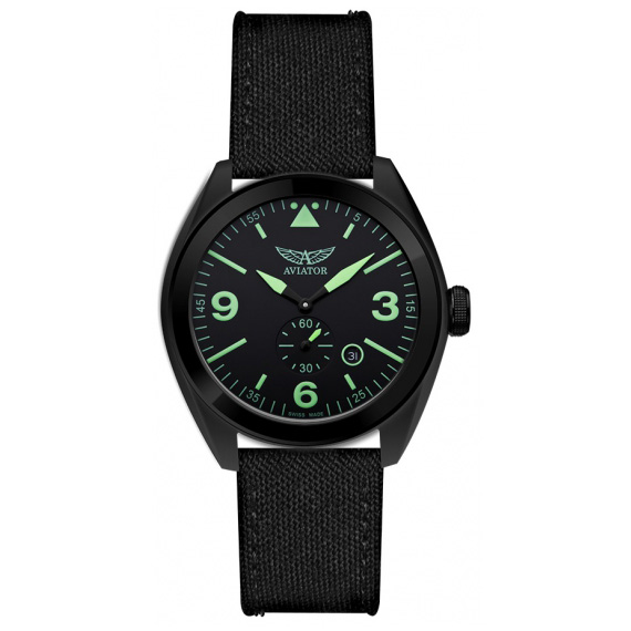 Aviator Mig-25 Foxbat Quartz Watch M.1.10.5.031.7