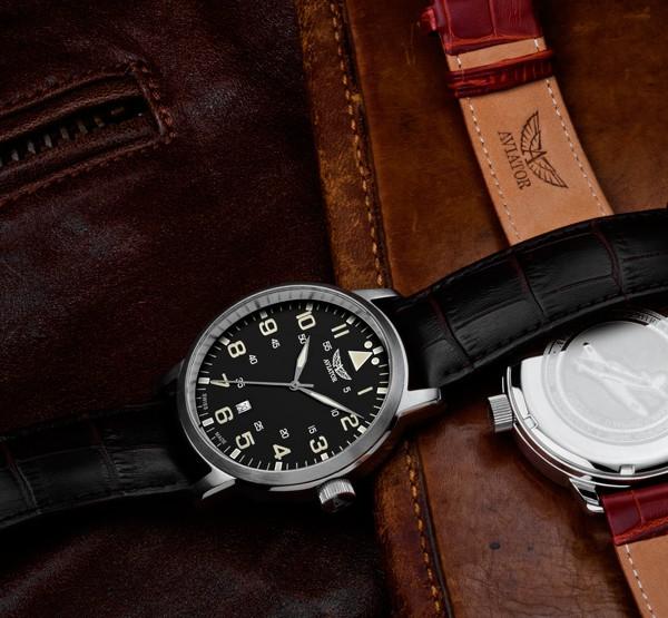 Aviator Airacobra Quartz Watch V.1.11.0.036.4