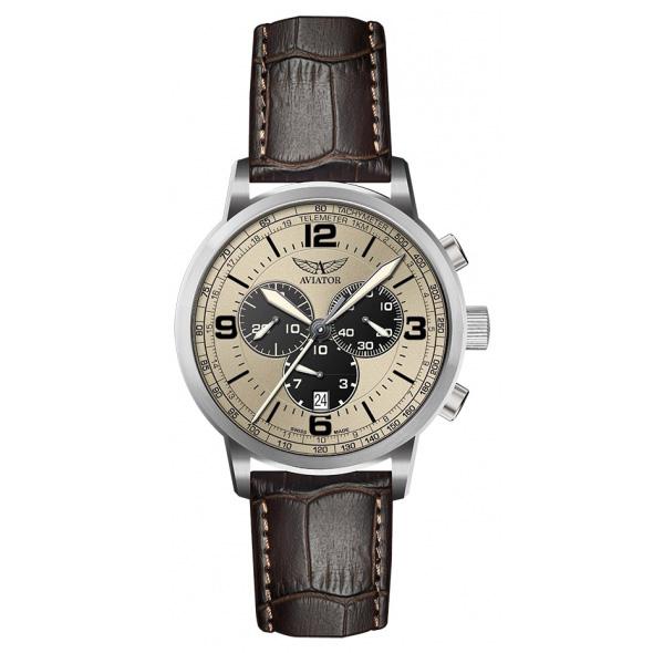 Aviator Kingcobra Chrono Quartz Watch V.2.16.0.097.4