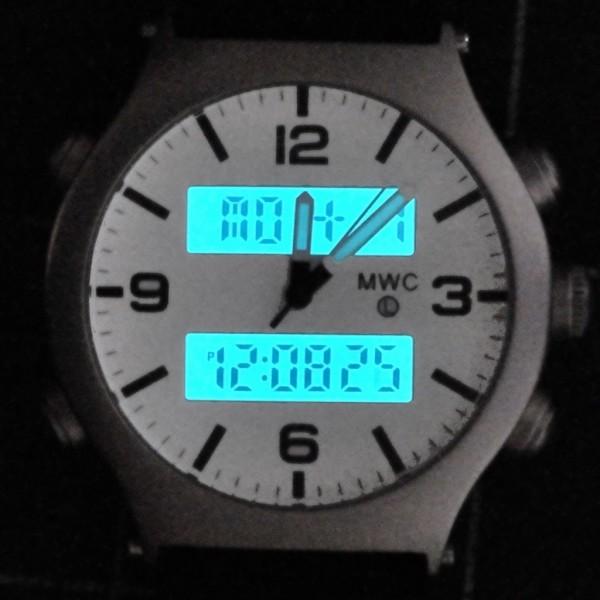 MWC G10 EVO SS White Dial Nightl