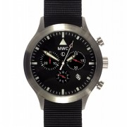 MWC MKIV CHRONO SS ON BLACK STRAP l