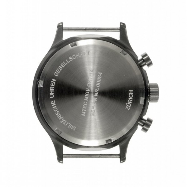 MWC MKIV Caseback Gunmetal Chrono l