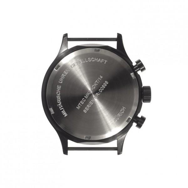 MWC MKIV PVD Steel Chrono Caseback l Black case