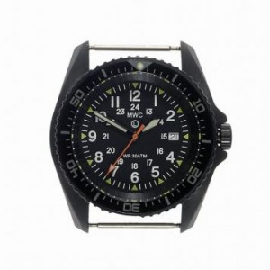 MWC XL PVD 1224 Military Diver Quartz without strap s