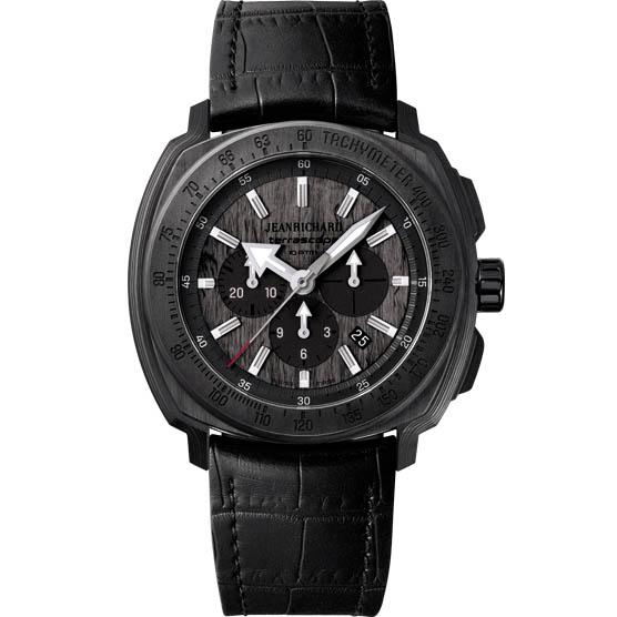 JeanRichard Terrascope Chrono Carbon 60550-36-601-BB60-SD Watch