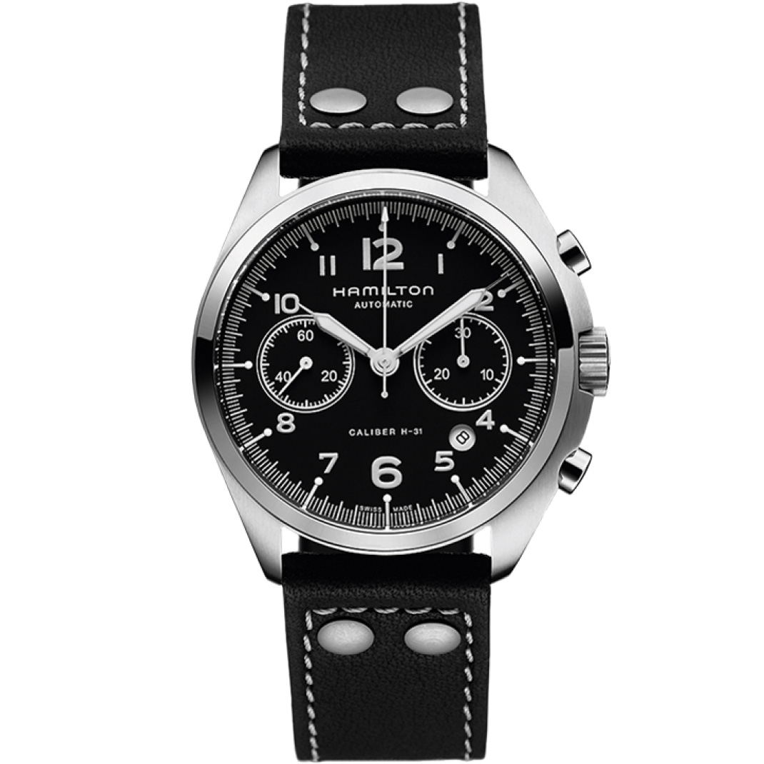 Hamilton Khaki Aviation Pilot Pioneer Auto Chrono H76416735 Watch