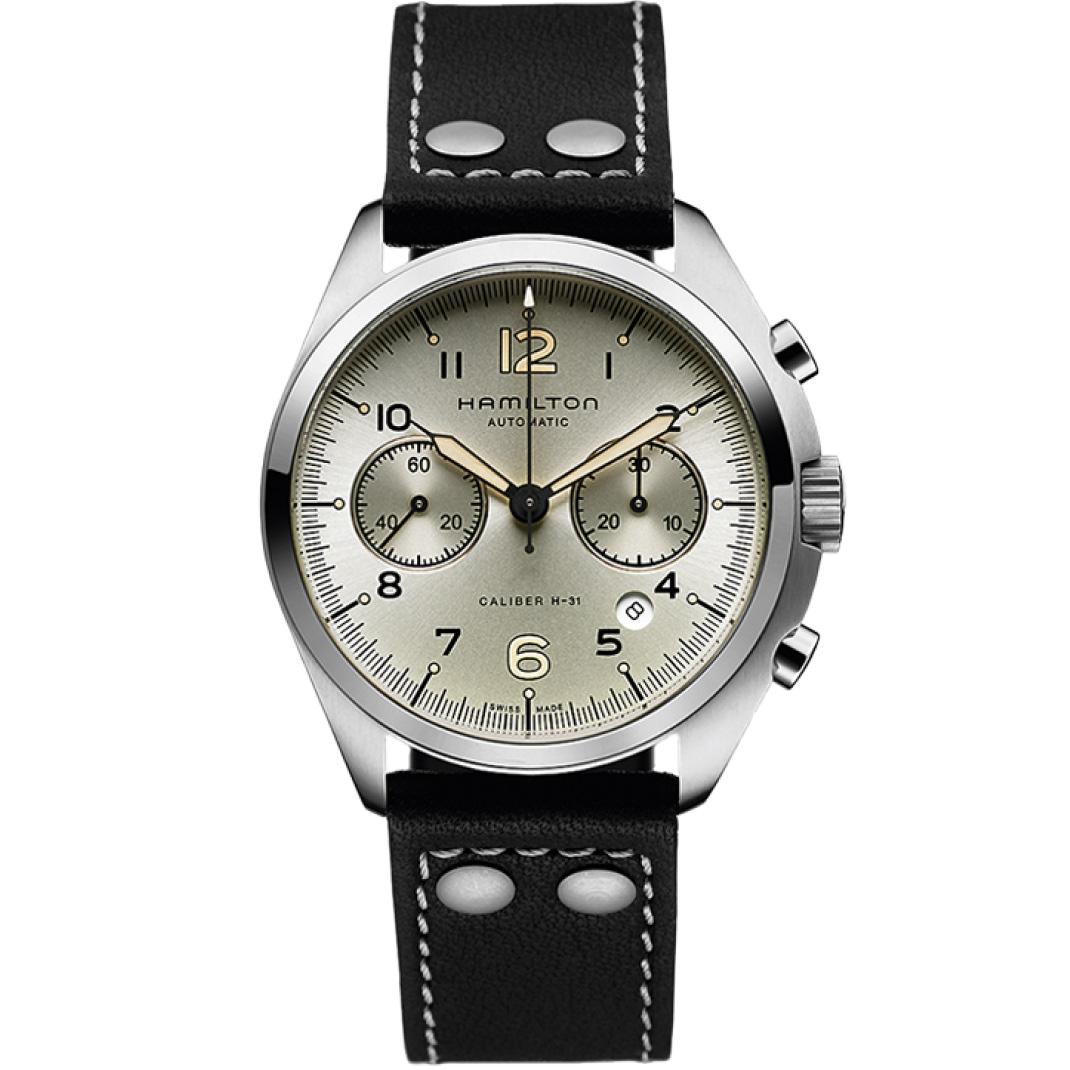 Hamilton Khaki Aviation Pilot Pioneer Auto Chrono H76416755 Watch