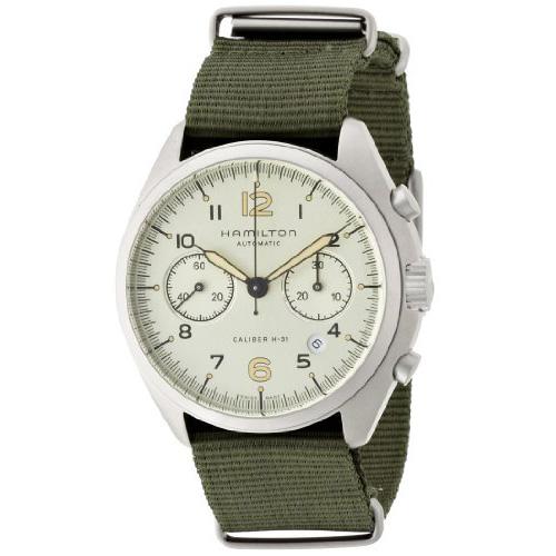Hamilton Khaki Aviation Pilot Pioneer Auto Chrono H76456955 Watch