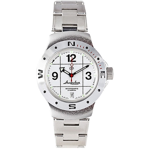 Vostok Amphibia Automatic Watch 2416B/060487