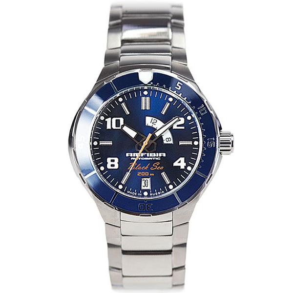 Vostok Amphibia Black Sea Automatic Watch 2432/440795