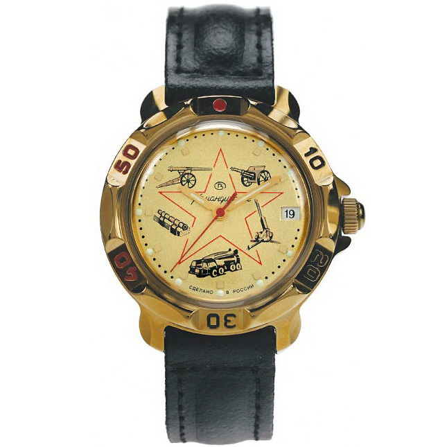 Vostok Komandirskie Watch 2414А/819213