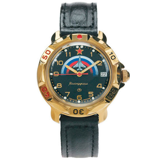 Vostok Komandirskie Watch 2414А/819608