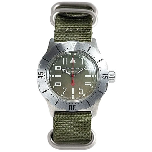 Vostok Komandirskie K-35 Automatic Watch 2415/350746