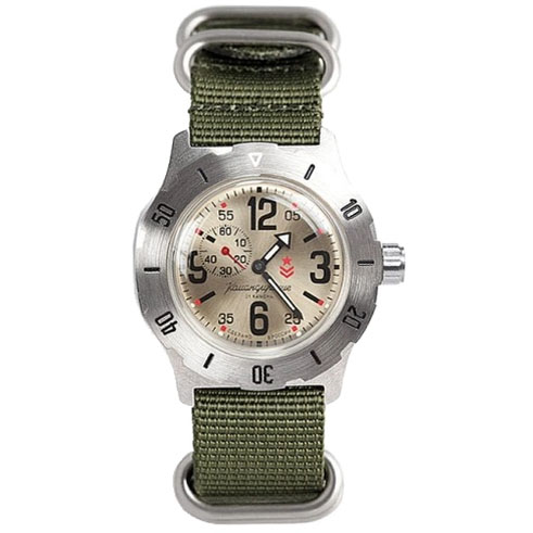 Vostok Komandirskie K-35 Automatic Watch 2415/350749