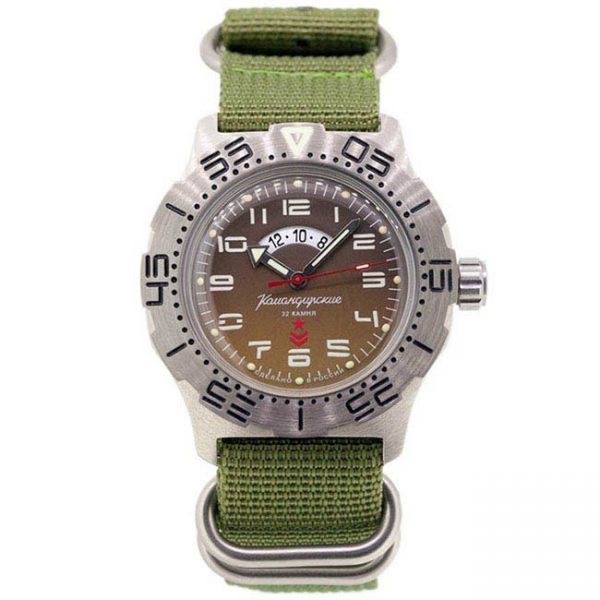 Vostok Komandirskie K-35 Automatic Watch 2432/350754