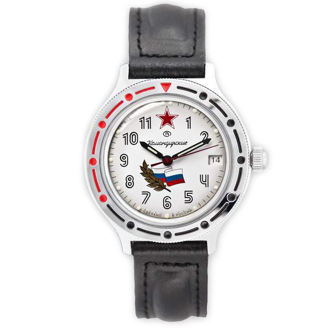 Vostok Komandirskie Watch 2416B/921277