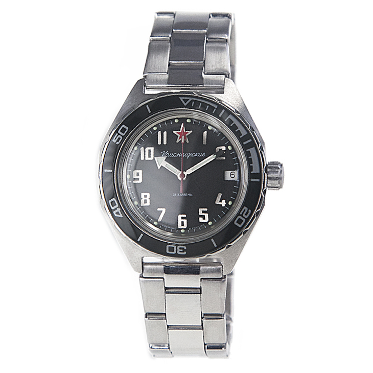 Vostok Komandirskie K-65 Automatic Watch 2416B/650537
