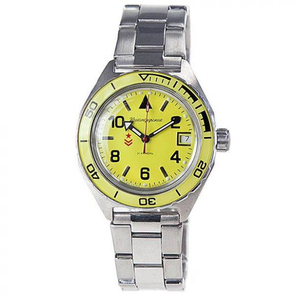 Vostok Komandirskie K-65 Automatic Watch 2416B/650855