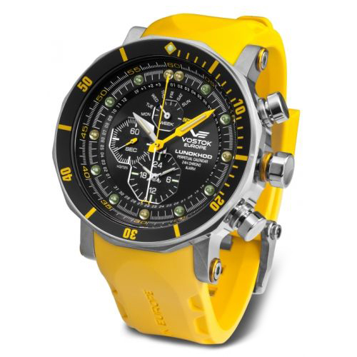 Vostok-Europe Lunokhod Quartz Watch YM86/620A505