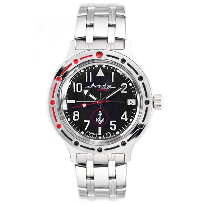 Vostok Amphibia Automatic Watch 2416B/420959