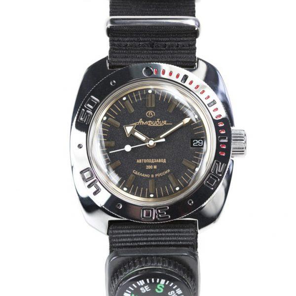 Vostok Amphibia Automatic Watch 2416B/710679N